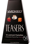 Wicked Teasers Flavored Lubricant...