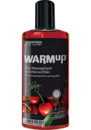 Warm Up Flavored Massage Oil Cherry...