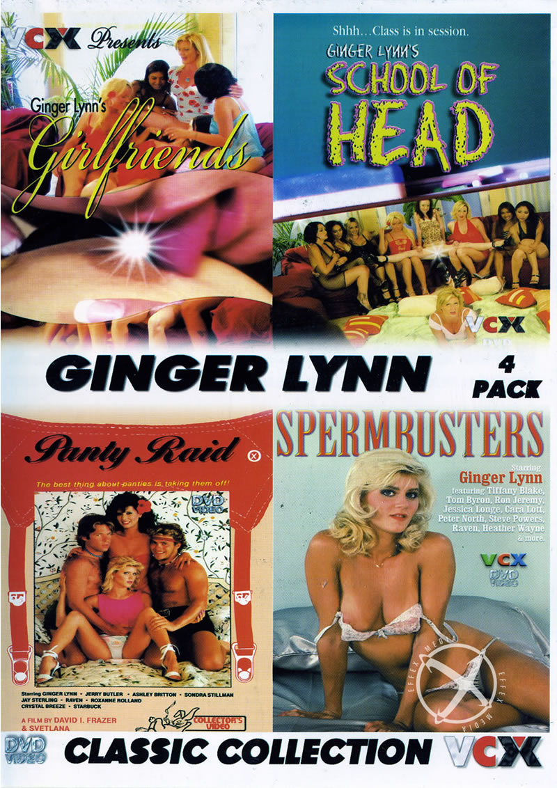 Ginger Lynn Classic Coll {4 Disc Set