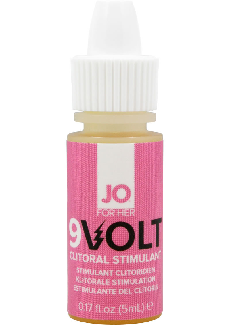 Jo 9v Volt Arousing Tingling Serum 5 Ml
