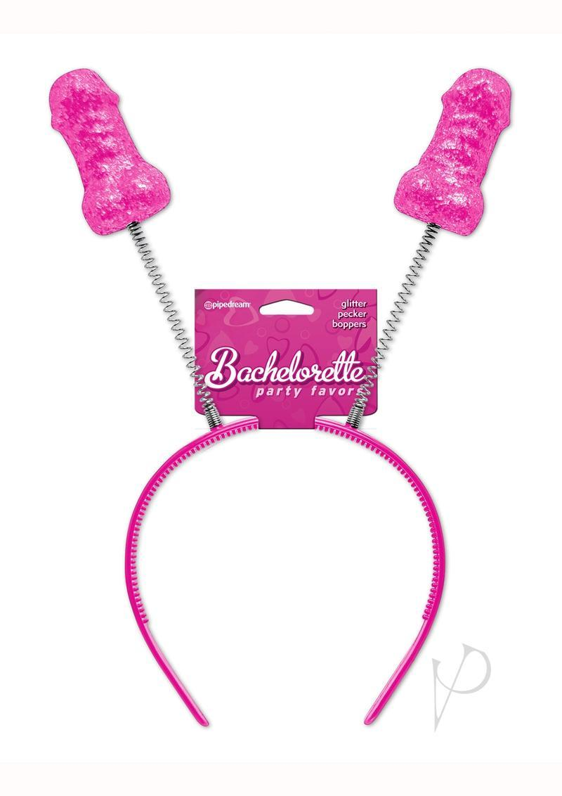 Bachelorette Party Favors Glitter Pecker Boppers Pink