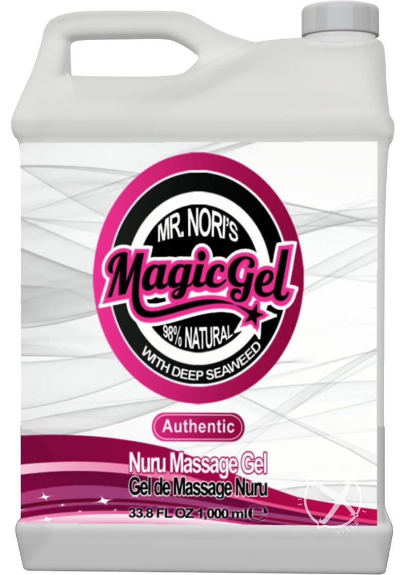 Mr. Nori Magic Gel With Deep Seaweed Authentic Nuru Massage Gel 33 Ounce