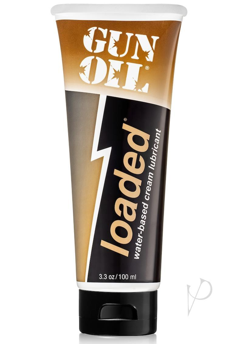 Gun Oil Loaded Water Based Cream Lube 3.3 Oz