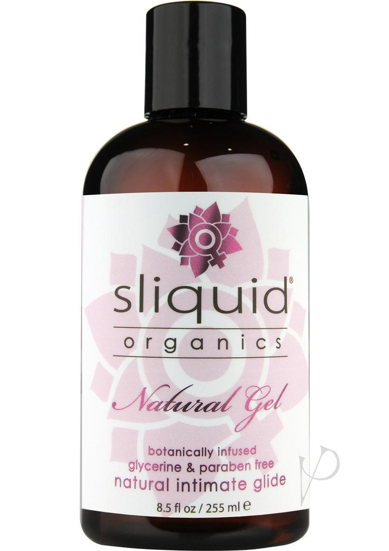 Sliquid Organics Natural Gel Waterbased Natural Intimate Lubricant 8.5 Ounce